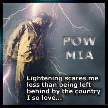 Lightening scares me less than being left behind by the Country I love